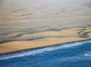 纳米比亚海滩海岸