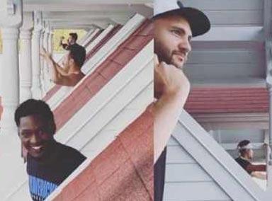 NBA球员隔离欢乐多!集体阳台电音趴