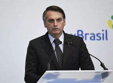 巴西总统新冠病毒检测呈阳性