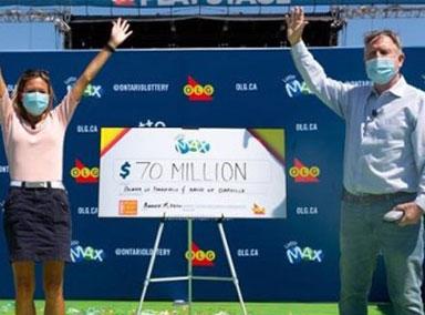 女子只想中105元,没想到赢得3.7亿