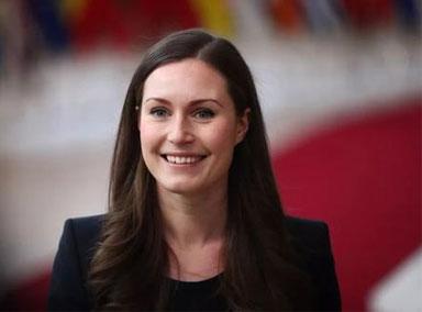 """芬兰""""85后""""最年轻女总理举行婚礼"""