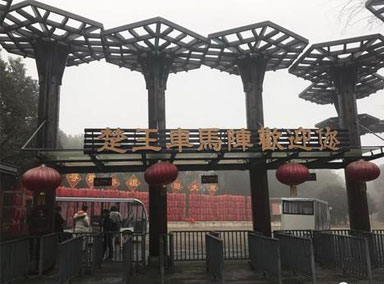 湖北荆州景区渐复苏