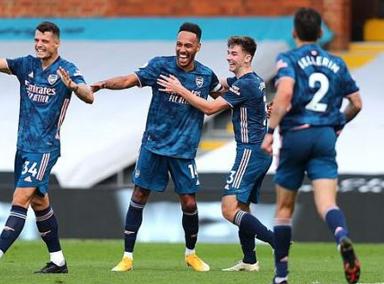 奥巴进球新援首秀破门 揭幕战阿森纳3-0客胜