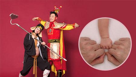 林峰官宣当爸表白妻子和宝宝